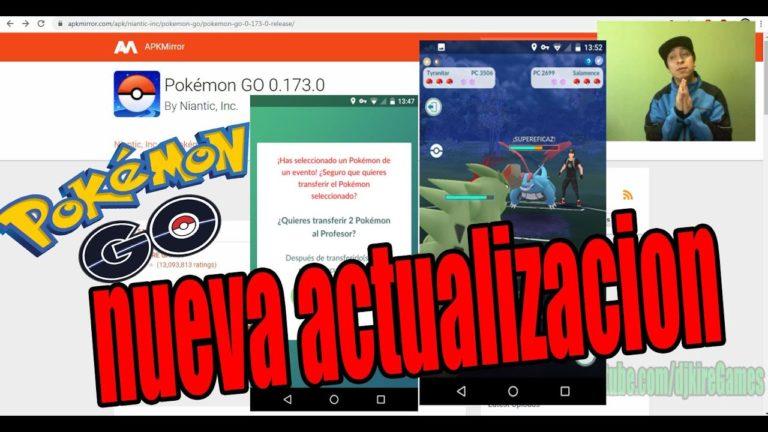OJO ESTO Trae La Nueva actualización de Pokemon GO. 173.0  full QUE nuevo TRAE?  (megalike)