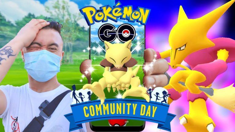 CAN'T BELIEVE I DID IT AGAIN!  ABRA COMMUNITY DAY POKEMON GO (2020)