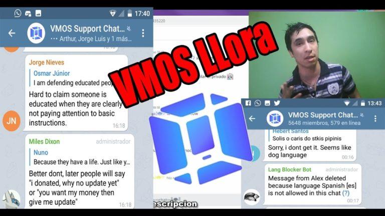 adm de VMOS lloran x info VMOS V/S KIRE Que pasa realmente. tanto problema vmos, vfin actualizacion