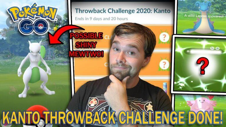 KANTO THROWBACK CHALLENGE 2020 COMPLETED! (Pokemon GO)
