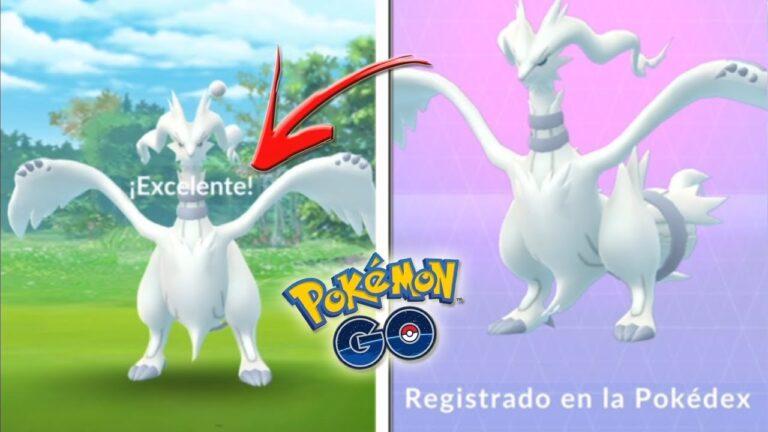 TRUCO COMO CAPTURAR a RESHIRAM FÁCIL y RÁPIDO en Pokémon GO! REGISTRO el nuevo LEGENDARIO! [Keibron]