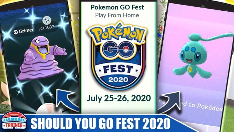 WILL *POKÉMON GO FEST 2020* BE WORTH IT? PROS & CONS OF GO FEST FROM HOME   Pokémon Go
