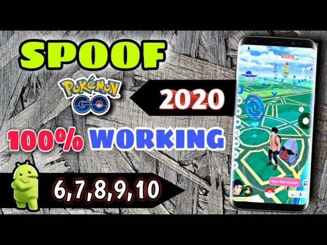 How to spoof pokemon go in any android    spoof pokemon go in may 2020     joystick for pokemon go