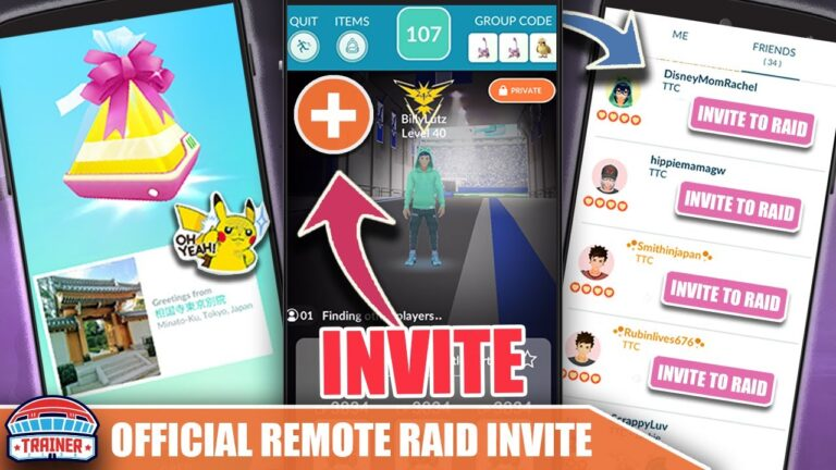 *INVITE FRIENDS TO RAIDS* FROM ANYWHERE! COMING THIS MONTH! OFFICIAL  DETAILS    Pokémon GO Updates
