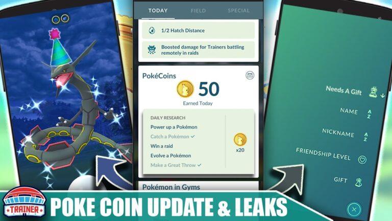 NEW POKÉCOIN SYSTEM UPDATES & DRAGON FESTIVAL LEAK! POKÉMON GO UPDATES COMING SOON | Pokémon GO