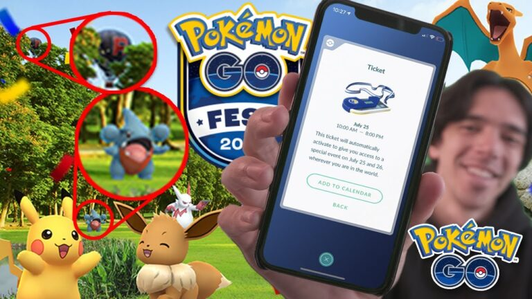POKÉMON GO FEST 2020 TICKETS AND DETAILS RELEASED!!