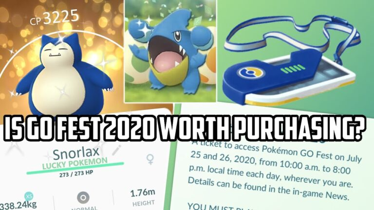 Go Fest 2020: Is it Worth the Purchase in Pokemon Go?