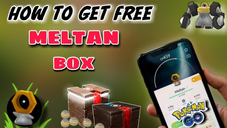 How to get meltan in pokemon go 2020 | get meltan box in pokemon go | catch Melmetal in pokemon go.