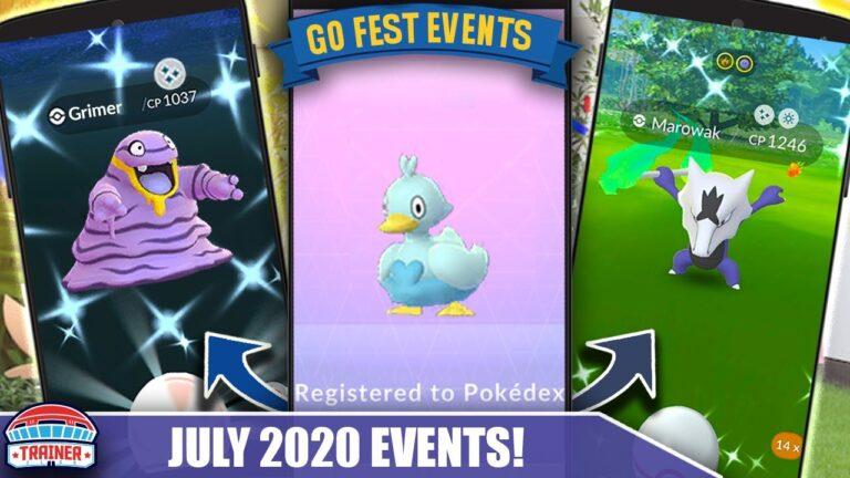 GO FEST 2020 GOT EVEN BETTER! JULY EVENTS FOR – SHINY ALOLAN GRIMER, MAROWAK & TOGETIC | Pokémon GO