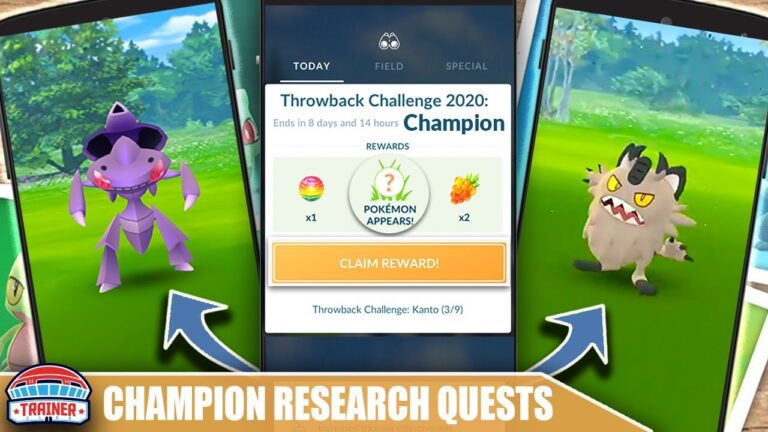INCOMING! FULL *CHAMPION RESEARCH* QUEST LINE – GALARIAN, GENESECT + MORE POTENTIALS | Pokémon GO