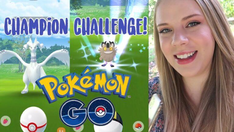 NEW GALARIAN FORMS! Reshiram Raid! Throwback Champion Challenge 2020 Pokémon Go