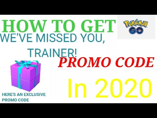 How to get New Promo code in Pokemon go 2020 [][] Best way to get unlimited promo code in Pokemon go