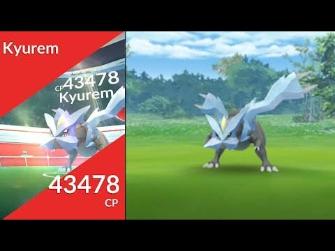 1st time Kyurem Legendary Raid! The last of Tao Trio in Pokemon Go!