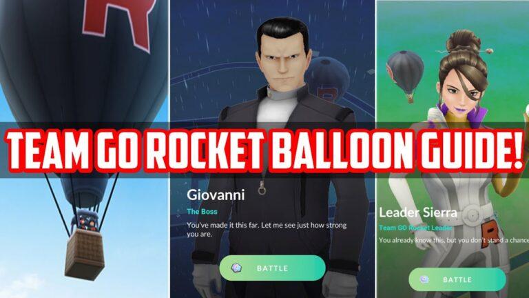 Full Guide for Team Go Rocket Balloon in Pokemon Go!
