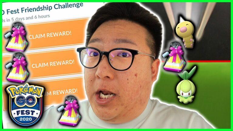 POKEMON GO FEST 2020, THIS WILL HELP YOU COMPLETE THE FRIENDSHIP CHALLENGE – Pokemon GO