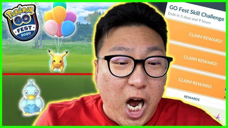 POKEMON GO FEST 2020 SKILL CHALLENGE, 50 EXCELLENT THROWS??? – Pokémon GO