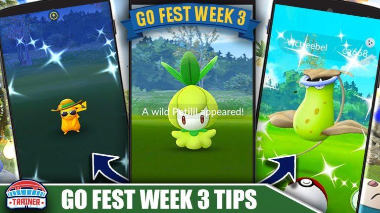 *NEW SUMMER SHINIES* – GO FEST WEEK 3 TOP 5 TIPS – PETILIL, SHINY BELLSPROUT – FRIENDS | Pokémon GO