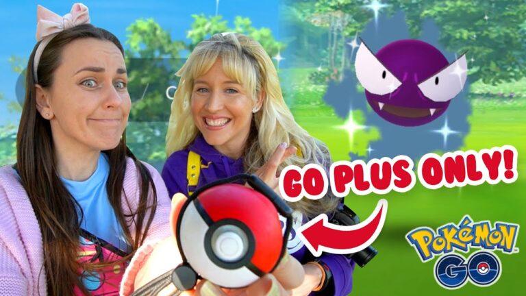 GO PLUS ONLY CHALLENGE! Shiny Gastly Community Day | Pokémon GO