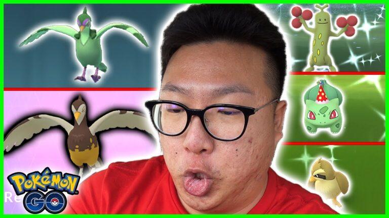 I CAUGHT AND EVOLVED SHINY PIDOVE, POKEMON GO ANNIVERSARY EVENT – Pokemon GO
