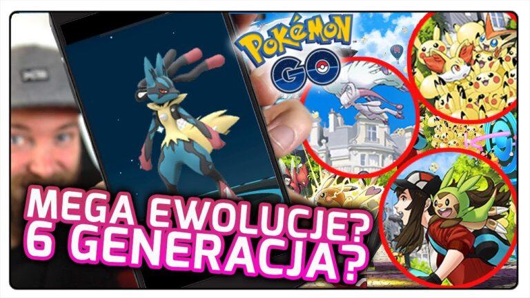 MEGA EWOLUCJE I 6 GENERACJA NA POKEMON GO FEST 2020? (Pokemon GO)