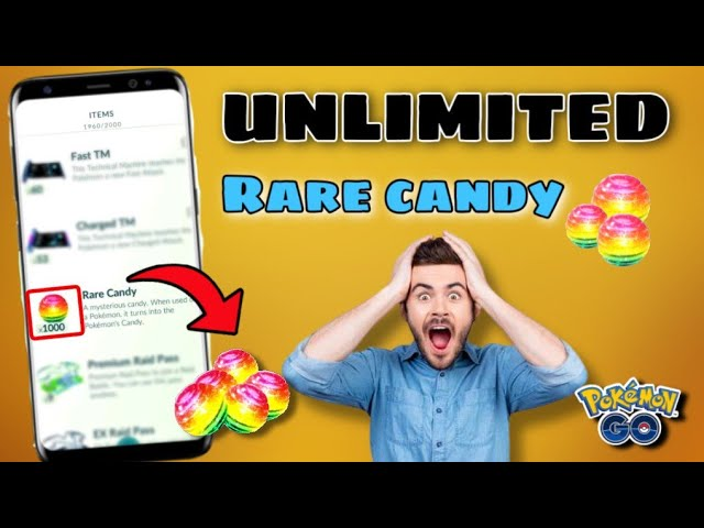How to get unlimited rare candy in pokemon go 2020    4 best trick to get rare candy in pokemon go.