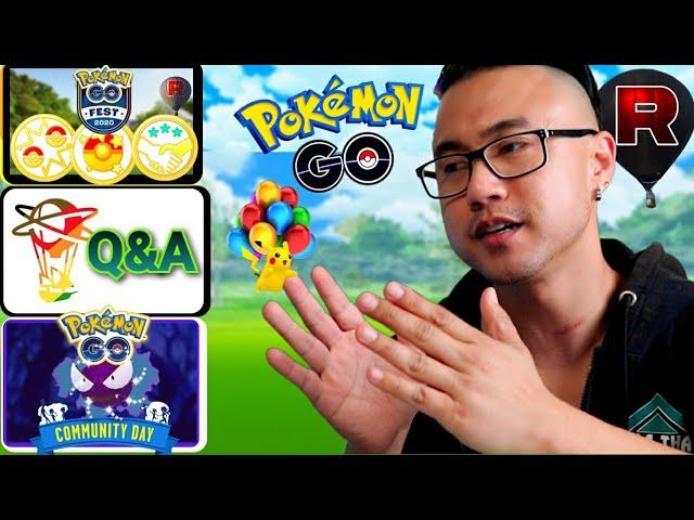 NIANTIC Q&A!  JULY PRE-GO FEST EVENT BREAKDOWN Pokemon GO (2020)