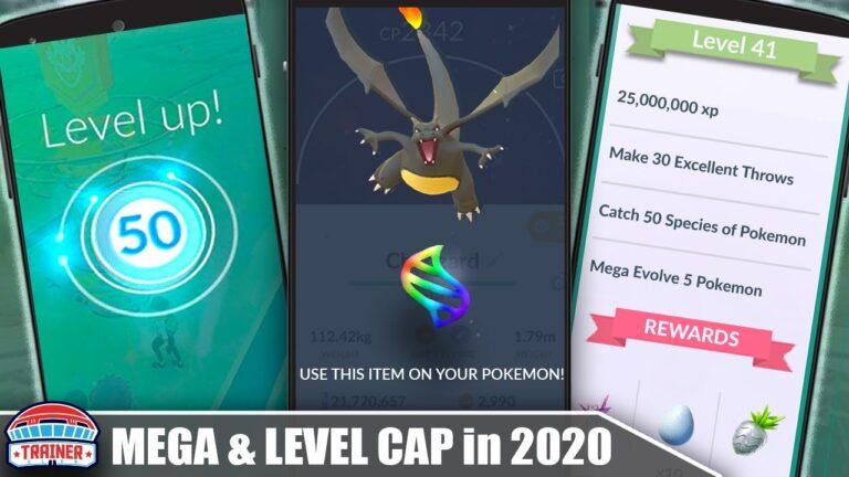LEVEL 50 & MEGA EVOLUTION LEAK! OFFICIAL NIANTIC DETAILS RELEASED FOR 2020 | Pokémon GO