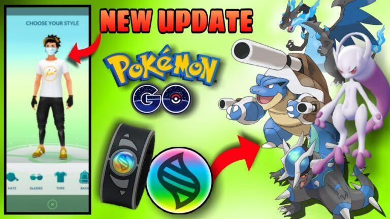 New update in pokemon go   Mega evolution update in pokemon go   mega stone & mega bracelet update.