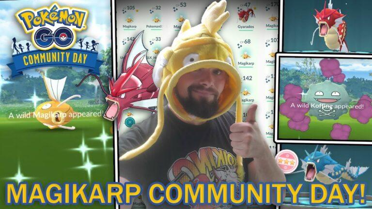 SHINY MAGIKARP COMMUNITY DAY! (Pokemon GO)