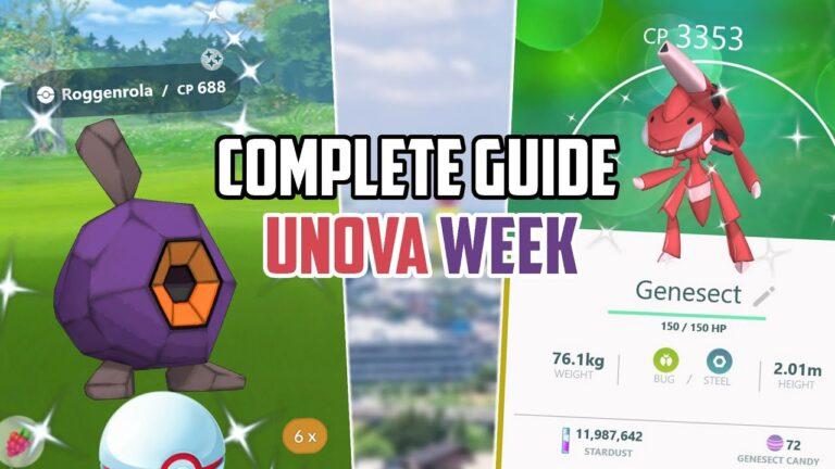 Complete Guide: Unova Week in Pokemon Go! New Shinies!