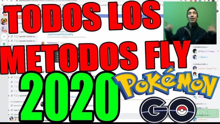 COMO SER FLY 2020 EN POKEMON GO 2020. TODOS LOS  TUTORIALES EXPLICADO FAKE GPS  A PASO DJKIRE GAMES