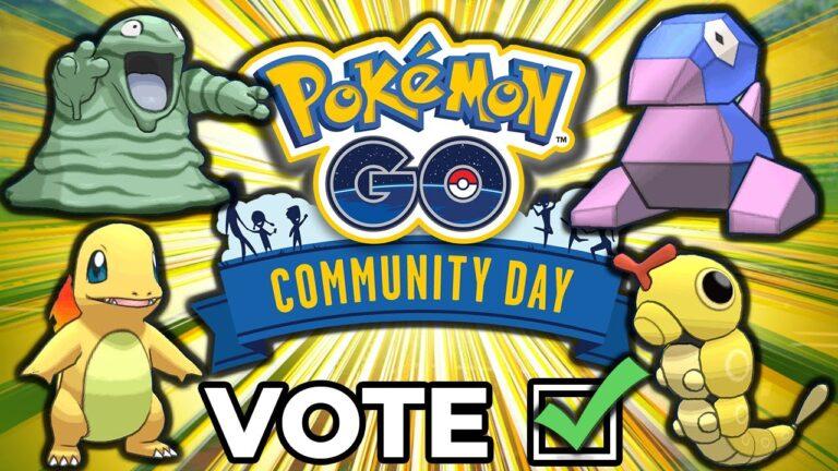 THE BEST POKEMON TO VOTE FOR! POKEMON GO COMMUNITY DAY 2020