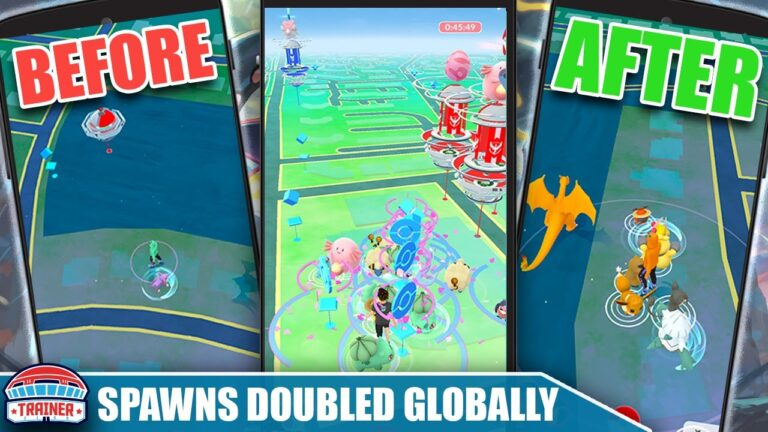 UPDATE! *SPAWN RATES DOUBLED* GLOBALLY – SPAWN DENSITY PLAYER QOL UPDATE!   Pokémon GO
