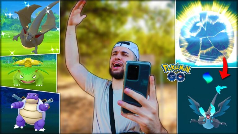 SHINY MEGA RAIDS AND EVOLUTIONS 😈 (Pokémon GO)