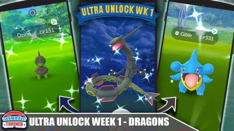 RARE SHINIES! TOP 5 TIPS for *DRAGON WEEK* SHINY DEINO, GIBLE & RAYQUAZA – ULTRA UNLOCK | Pokémon GO