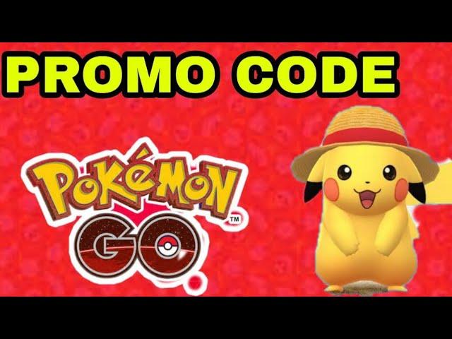 Pokemon Go Promo Codes 2020 | Promo Code For Pokemon Go 2020