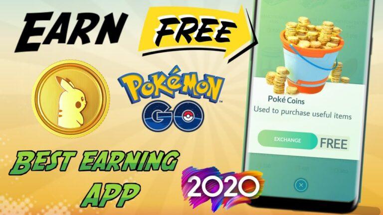 Best app to earn free pokecoins in Pokemon Go 2020 -How to earn free pokecoins, Unlimited pokecoins