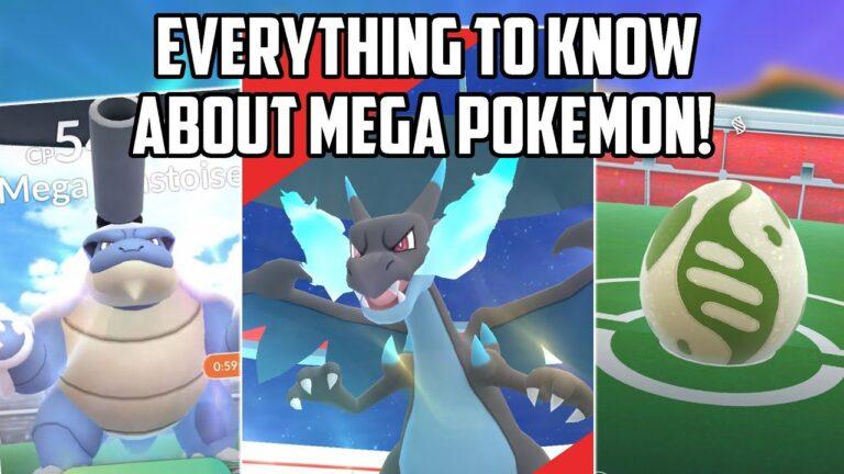 Mega Pokemon in Pokemon GO Everything You Need to Know!