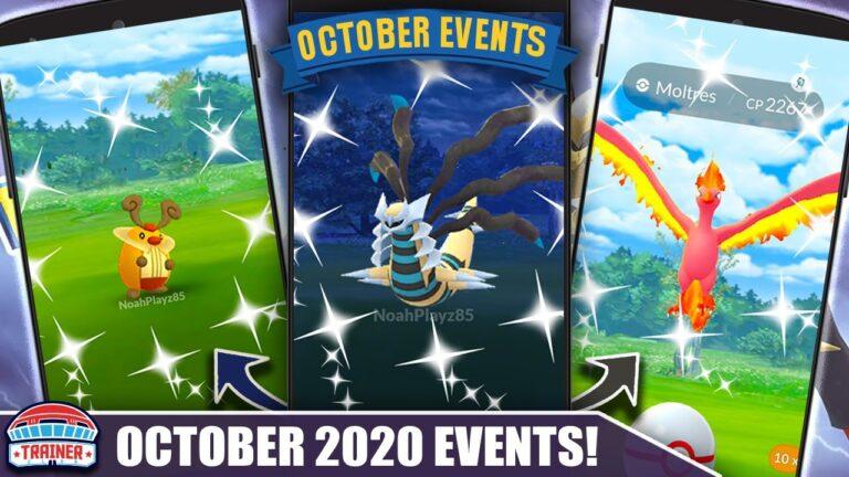 OCTOBER! THE WAIT IS OVER – SHINY GIRATINA ORIGIN & GREAT EVENTS! FULL MONTH BREAKDOWN | Pokémon Go