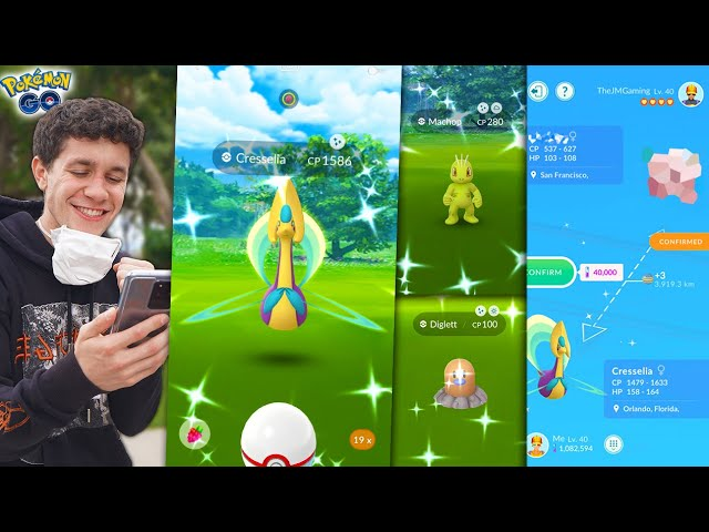FIRST TIME CATCHING THIS SHINY POKÉMON! MY LUCK IS WILD… (Pokémon GO)