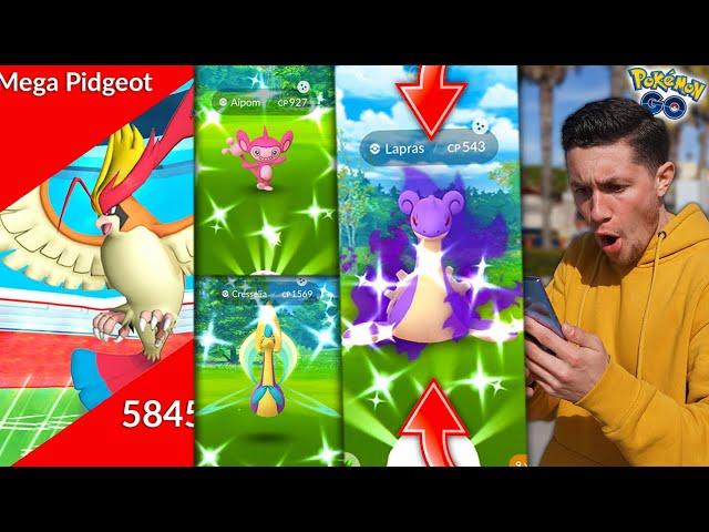 I NEVER EXPECTED TO CATCH THIS SHINY POKÉMON! (Pokémon GO)