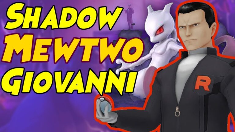 How to Beat Giovanni SHADOW MEWTWO Team in Pokemon GO