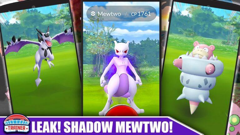 LEAK! *SHADOW MEWTWO* RESEARCH EVENT, MEGA AERODACTYL, SLOWBRO & 12km EGG HATCHES | Pokémon GO