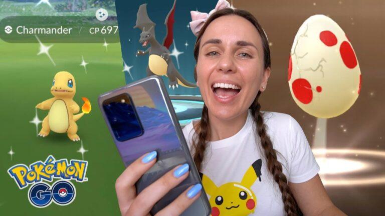 SHINY CHARMANDER COMMUNITY DAY 2020   Pokémon GO