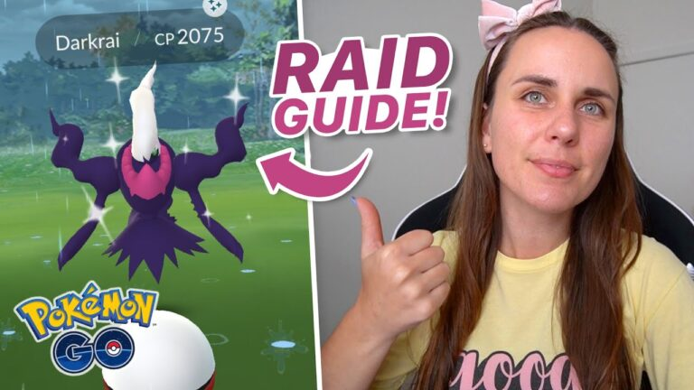 DARKRAI RAID COUNTER GUIDE! Pokémon GO
