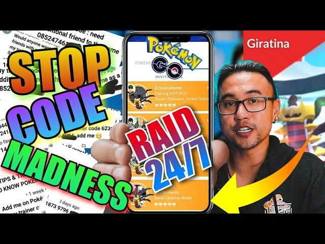HOW TO RAID 24/7 POKEMON GO (2020)