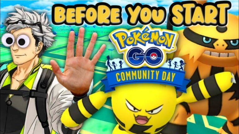 Watch before you start Electabuzz Community Day in Pokemon GO || You need to know this