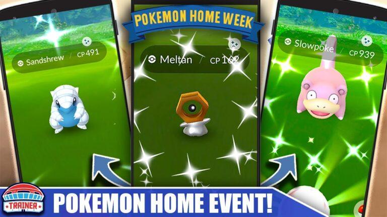 SHINY MELTAN LIVE! TOP 5 TIPS *POKÉMON HOME EVENT* – SHINY SLOWPOKE, MELTAN & MORE!   Pokémon GO