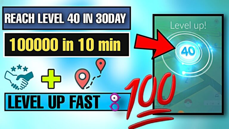 How To Reach lvl 40 Fast In Pokemon go 2020   best way