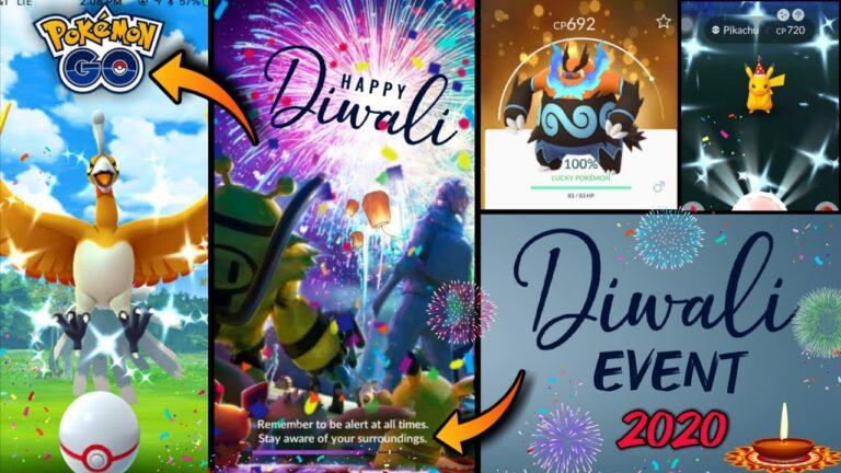 New Diwali Event in Pokemon go 2020 || New event in Pokemon go || special event in Pokemon go.